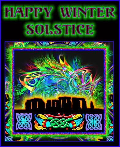 winter solstice 2007 poster by joe public