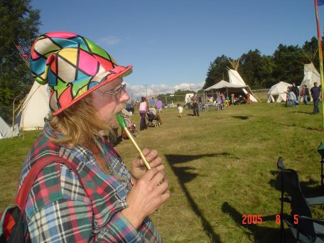 me at  Big Green Gathering, August 2005